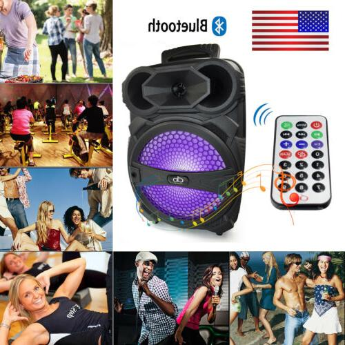 Portable Bluetooth Party Speaker System Subwoofer Bass Stere