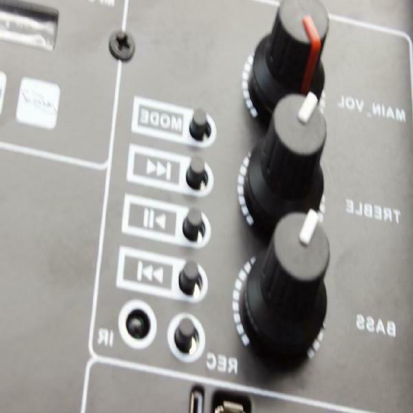 "Portable Speaker Bass Stereo Sound 12"" USB Bluetooth"