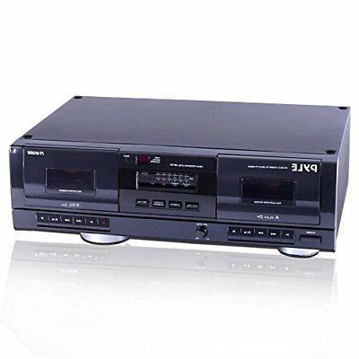 pt659du dual stereo cassette deck