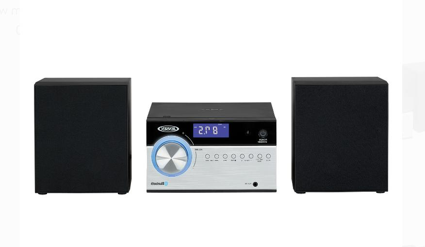 Home Stereo Bluetooth Music CD Player Compact Shelf