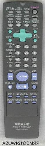 Sharp Remotes for DVD-VCR-TV-Audio-Stereo and or Compact Dis