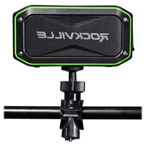 Rockville + KARAOKE ANYWHERE Bluetooth System w/ Mics