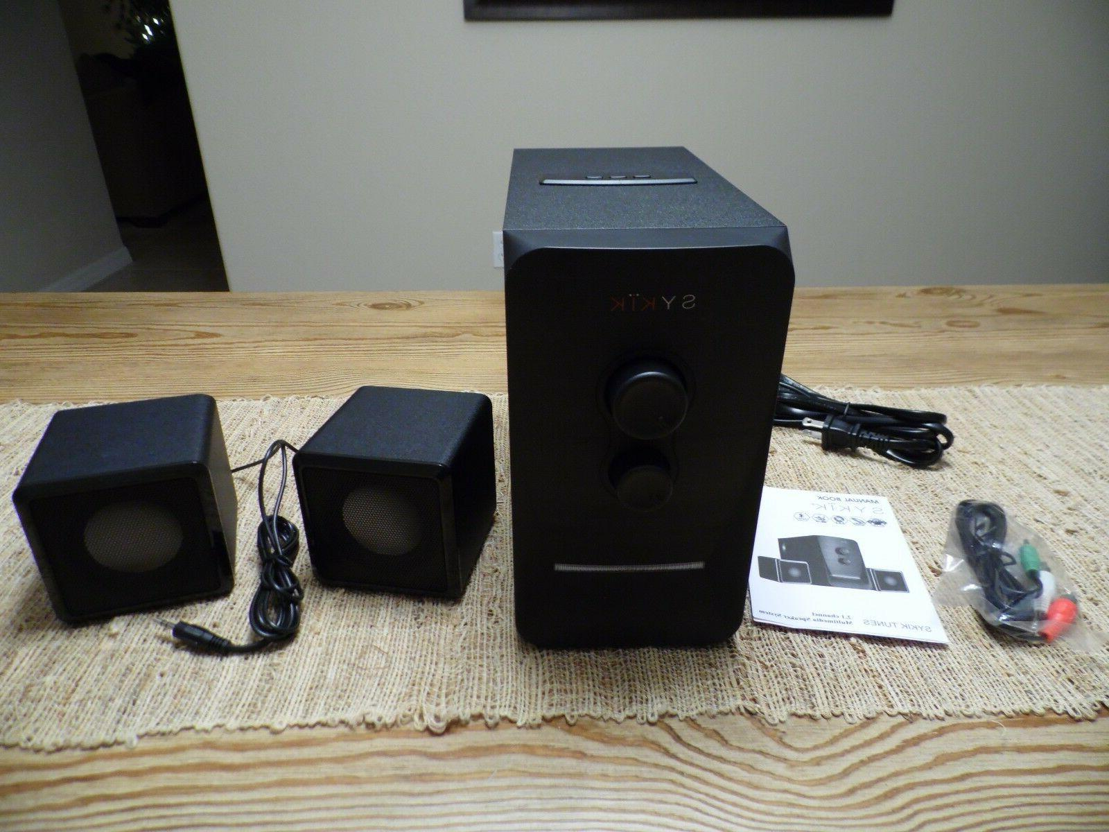 2.1 Channel Stereo Speaker System NEW