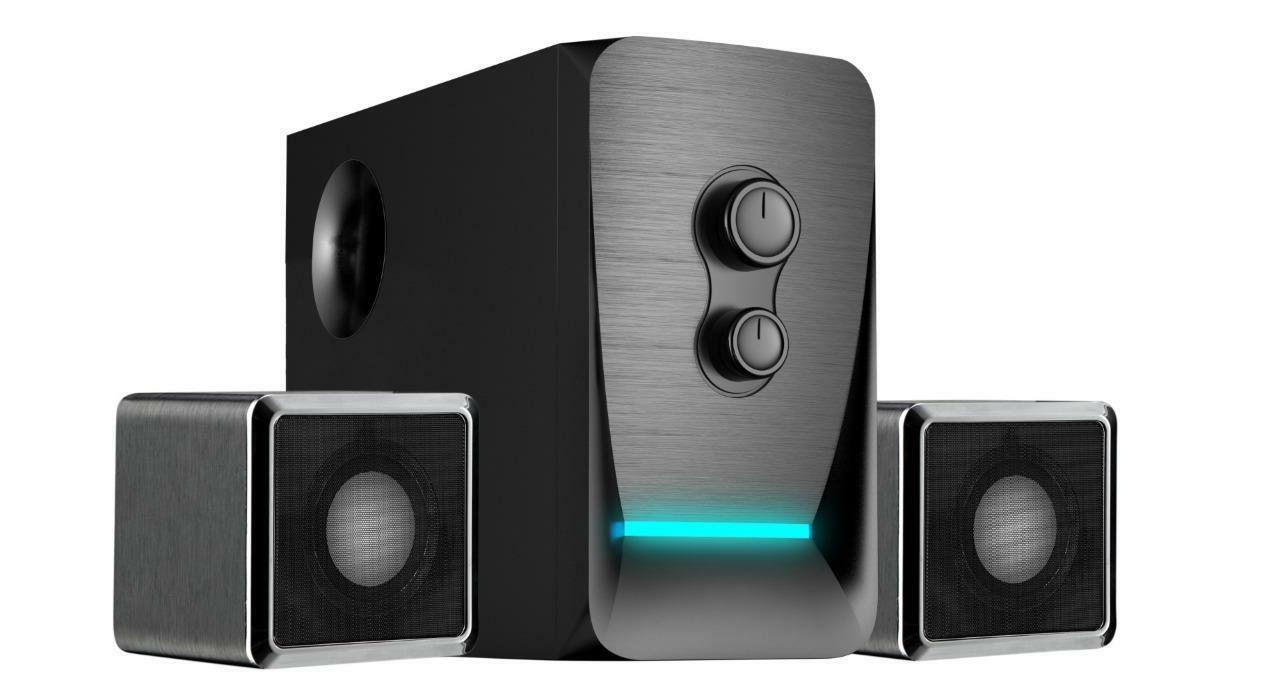 Sykik Wireless 2.1 Stereo Speaker System