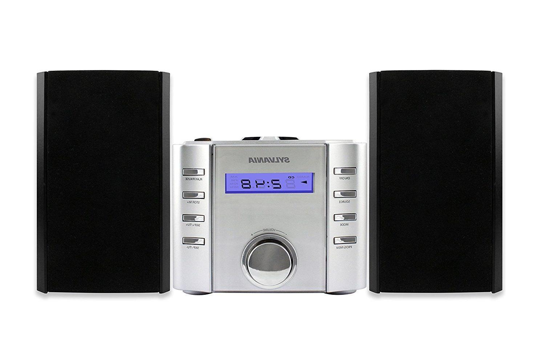 Sylvania Micro system Radio Bluetooth Silver