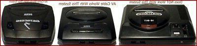 Stereo AV Video Cable Plug Connection Sega 2