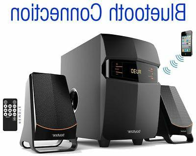 Stereo Audio Shelf Radio Bluetooth New