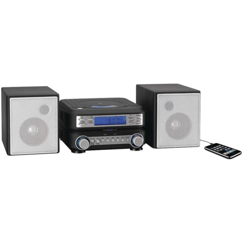 Stereo Home Cd System Player MP3 Radio Room Speakers Remote