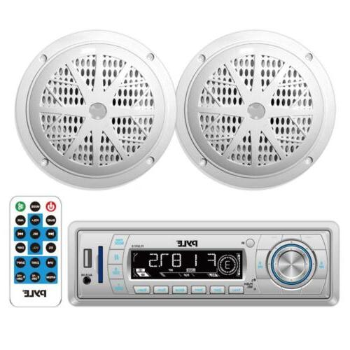 stereo radio headunit receiver waterproof