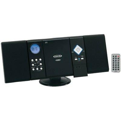 stereo receiver wall mountable cd system