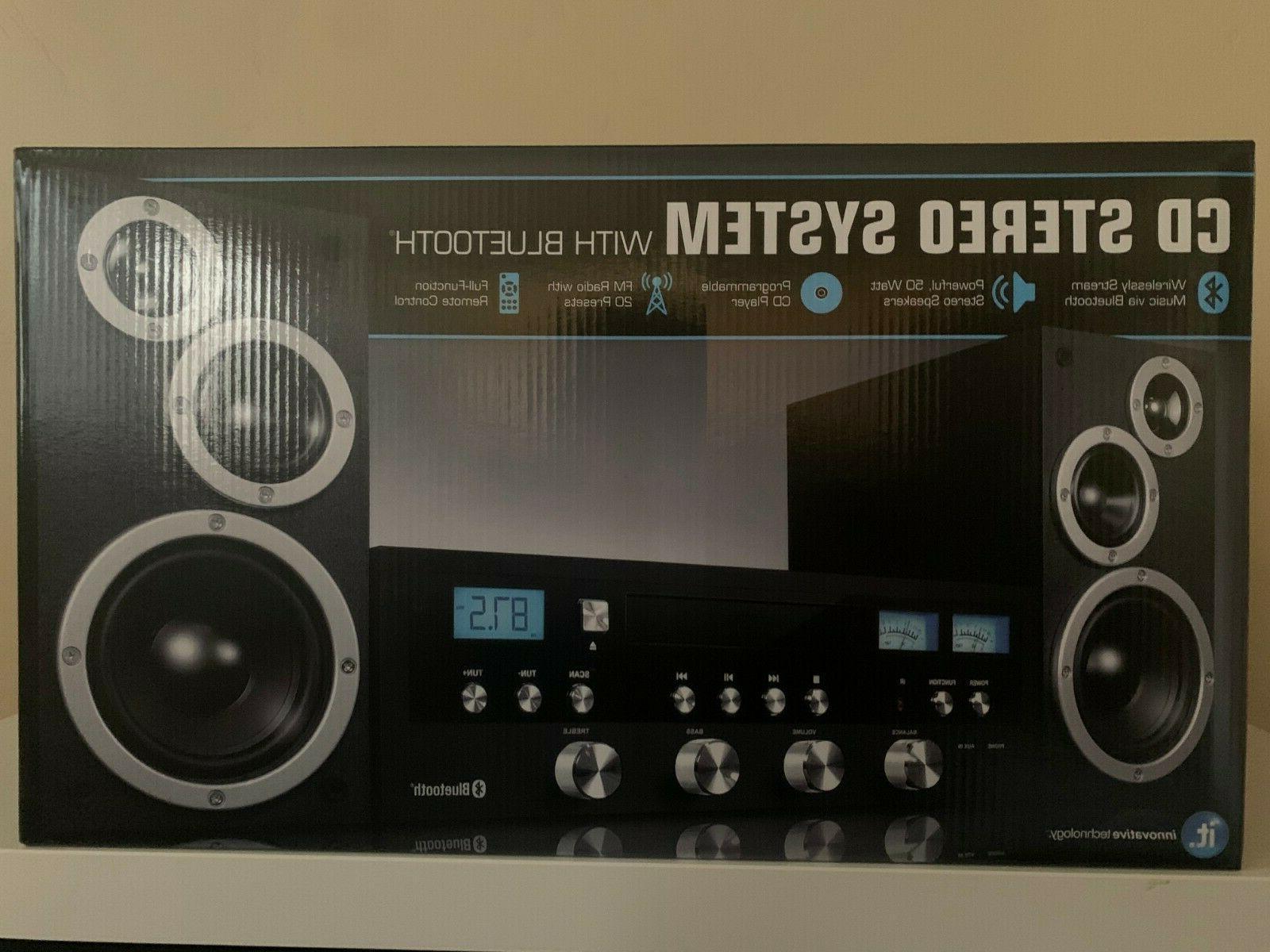 Innovative Technology Stereo CD Home Speaker New in Box