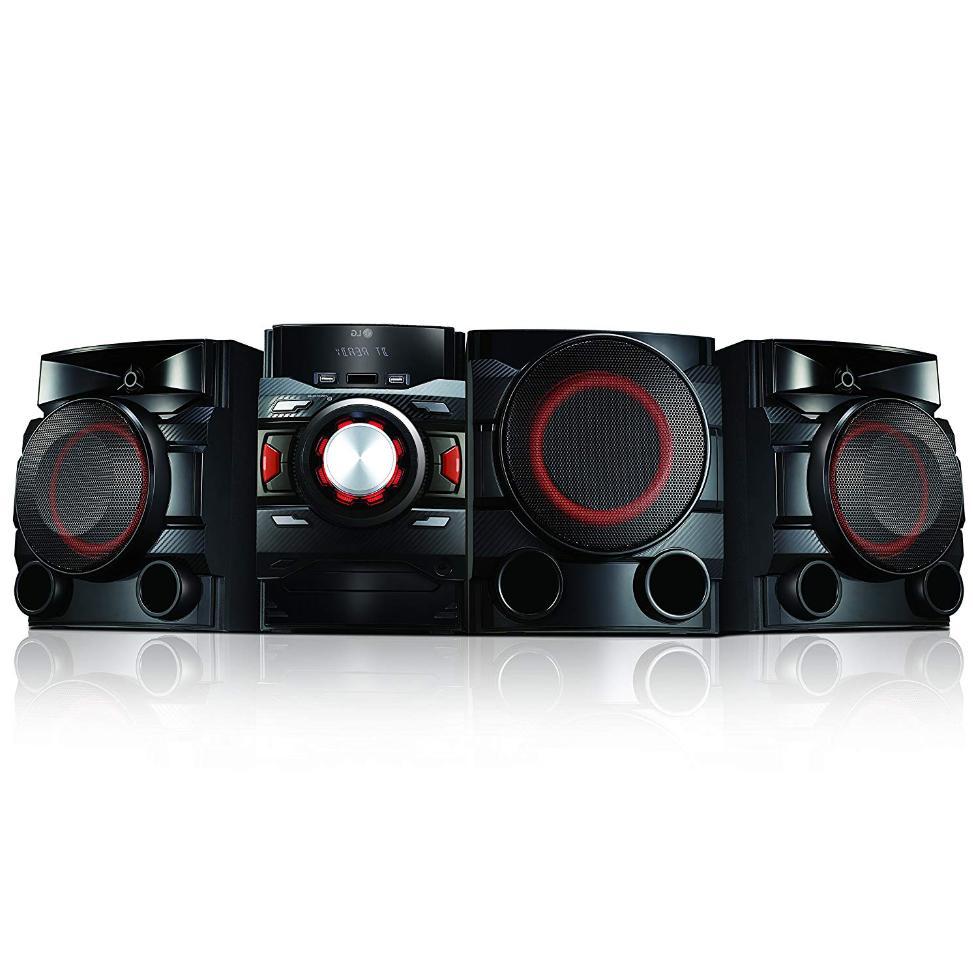 stereo system sound quality bluetooth subwoofer shelf