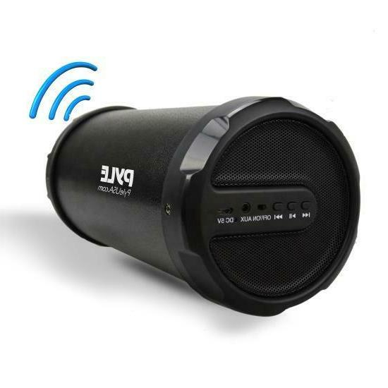 Pyle Surround Portable Boombox Bluetooth Speaker, Set Of 1,