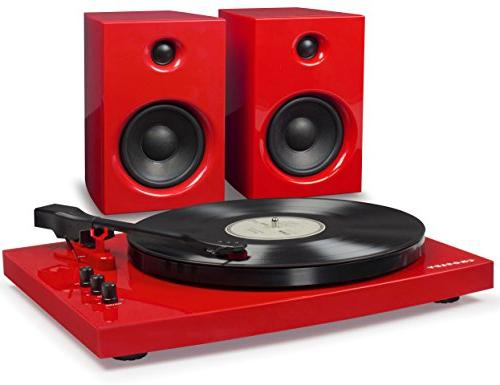 t100a re bluetooth turntable system