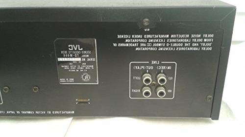 JVC Recordable Double Tape Complete with Cables and Digital Service Manual