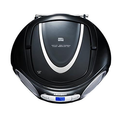 Toshiba Portable CD Boombox with AM/FM and Aux Input