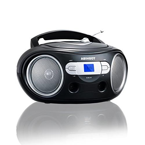 Toshiba Portable CD Boombox with and Aux Input