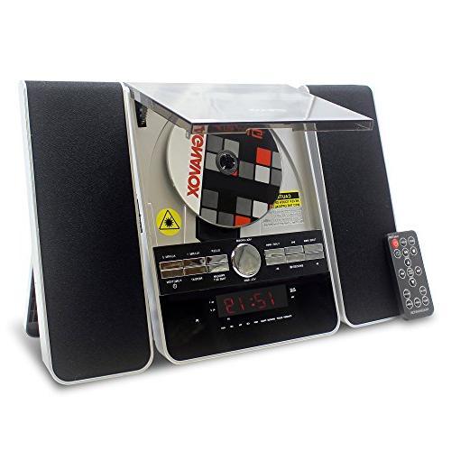 Craig System AM/FM Radio and Clock,
