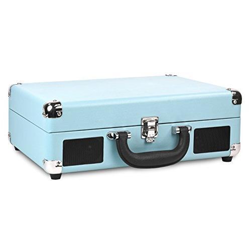 Innovative Victrola Vintage 3-Speed Suitcase