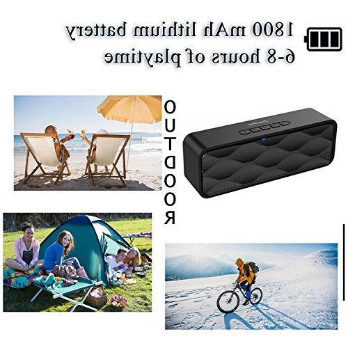 ZoeeTree Speaker, Speaker HD and Dual Speakerphone, 4.2, Handsfree Card Slot -