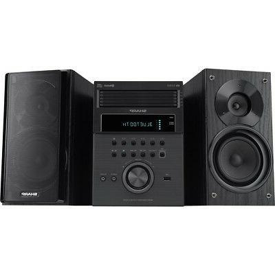 xl bh250 5 disc shelf speaker stereo