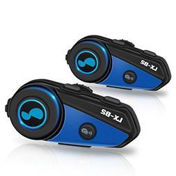 LEXIN 2x LX-B2 MotoFõn BT Interphone Bluetooth Motorcycle H