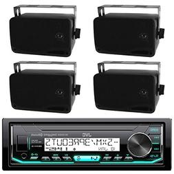 JVC Marine Boat Bluetooth USB AUX SD iPod/iPhone Pandora Rec