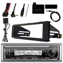 Kenwood Marine Radio Stereo Bluetooth Receiver Bundle, 1998