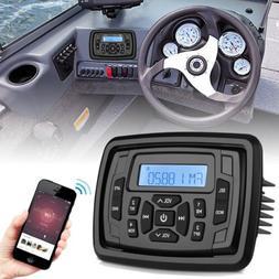 Marine Stereo Bluetooth Radio Waterproof AM FM Boat System H