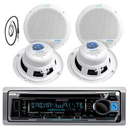Kenwood Marine Yacht Bluetooth CD MP3 USB AUX iPod iPhone AM