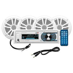 BOSS Audio Systems MCK632WB.6 Boss Combo Kit-Mr6328Uab/Am, 6