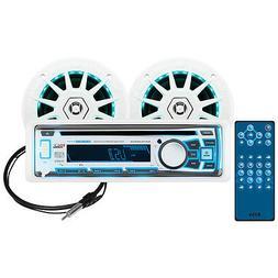BOSS Audio MCK762BRGB.6 Receiver/Speaker Package, Bluetooth,