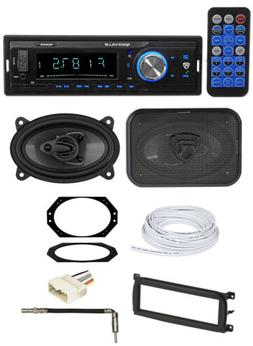 Digital Media Receiver+Front 4x6 Speakers+Wire Kits for 03-0