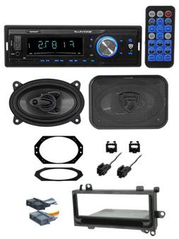 Digital Media Receiver+Front 4x6 Speakers+Wire Kits for 97-0