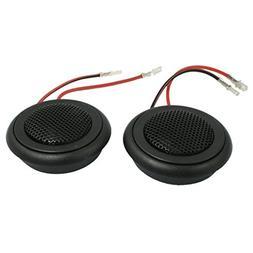 "uxcell 2 Pcs 2.3"" Metal Loud Speaker Dome Tweeter 150 Watt f"