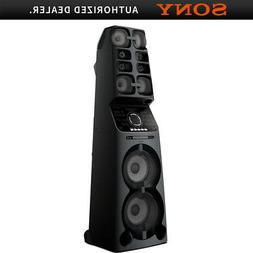 Sony MHC-V90W High Power One Box Party Music System with Bui