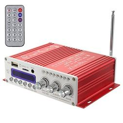 WINGONEER Mini Bluetooth Hi-Fi Stereo Audio AMP Amplifier Ba
