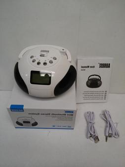 Mini Clock Radios, Bluetooth Speaker MP3 Stereo System Porta