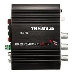 ELEGIANT 20W 12V Mini Hi-Fi Amplifier Booster Radio MP3 Ster