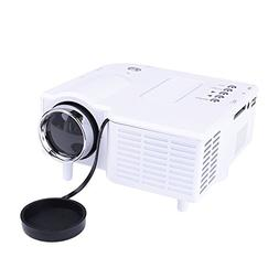 Duoying LED Mini Projector,20000 Hours Lifetime,Lightweight,
