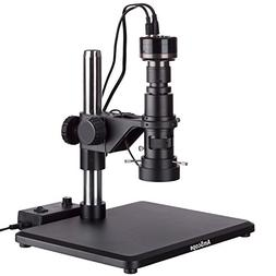 AmScope Monocular Inspection Zoom Microscope with HD Camera