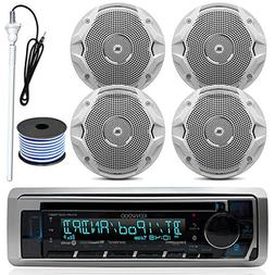 Kenwood MP3/USB/AUX Bluetooth Marine Boat Yacht Stereo Recei
