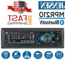 JENSEN MPR210 Car Stereo Receiver Single DIN Bluetooth MP3 U