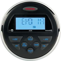 "Jensen MS3ARTL AM/FM/USB/Bluetooth Compact 3.5"" Round Waterp"