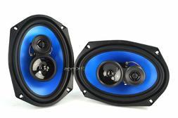 NEW  6x9 Auto Speakers.Custom Sound.Six by Nines.Pair.Vehicl