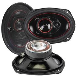 NEW  6x9 Auto Speakers.Sound.3way.Pair.Vehicle Stereo System