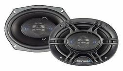 NEW  6x9 Car Speakers.Custom Sound.4way.Pair.Stereo System.4