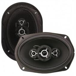 NEW  PPI 6x9 Car Speakers.Sound.4way.Pair.80w Stereo System.