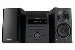 New Sharp 5-Disc Bluetooth Shelf Stereo System MP3/CD Player