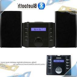NEW SYLVANIA Bluetooth CD Micro Stereo Shelf System w/ AM/FM